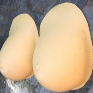 FAKE FOAM FALSIES C CUP DRAG QUEEN BOOBS~CROSSDRESSER~BREAST FORMS~ENHANCERS
